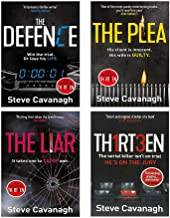 Eddie Flynn Series 4 Books Collection Set (Thirteen, The Defence, The Plea, The Liar)