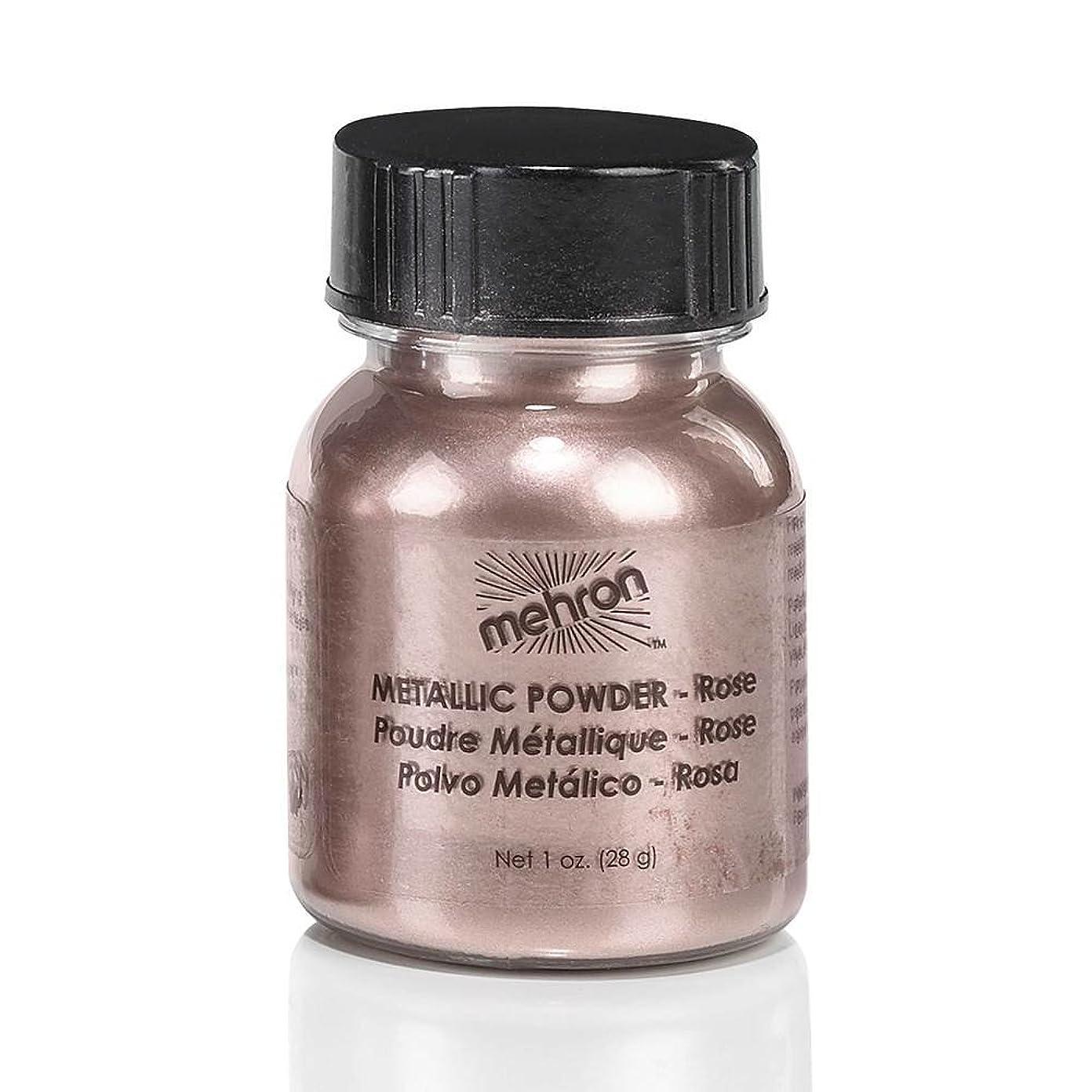 近似アマチュア割れ目(3 Pack) mehron Metallic Powder - Rose (並行輸入品)