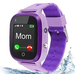4G Kids Smart Watch,Kids Phone Smartwatch w GPS Tracker,Call,Alarm,Pedometer,Camera,SOS,Touch Screen WiFi Bluetooth Wrist ...