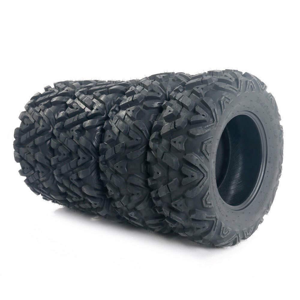 4PCS Tires 25x8 12 Front 25X10 12