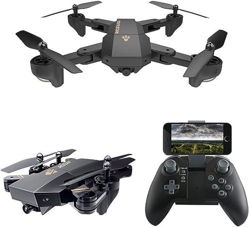 Qomomont VISUO XS809HW Faltbare Drohne mit WiFi FPV 2MP Kamera 2.4G Selfie RC Quadcopter Spielzeug Professionelle Live-Drohne für Anf er
