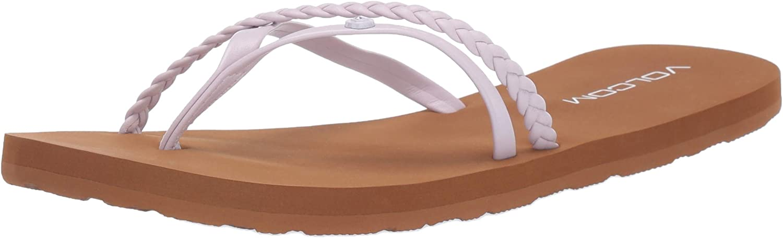 Volcom Womens Women's Thrills Dress Flat Sandal Sandal