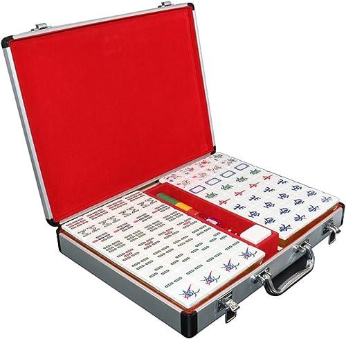 tienda de ventas outlet LI JING SHOP - La mano grande grande grande de 4.0CM que frojoa la tarjeta de Mahjong, alambre casero del oro de los Colors del acrílico de dos Colors Mahjong, tamaño  4.0  3.1  2.1CM  apresurado a ver