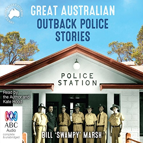 Great Australian Outback Police Stories audiobook cover art