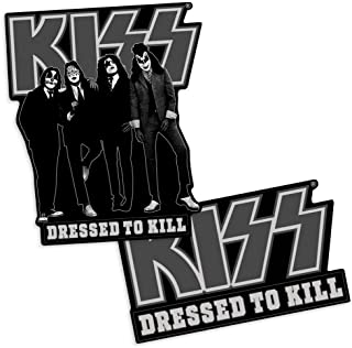 Popfunk KISS Dressed to Kill Rock Album Collectible Stickers