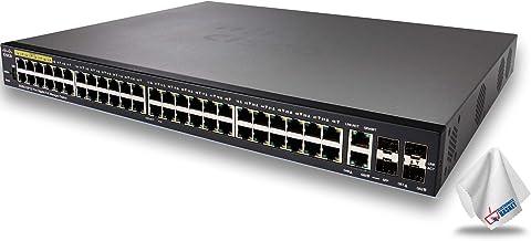 $745 » Cisco SG350-52P 350 Series 52-Port PoE+ Managed Gigabit Ethernet Switch SG350-52P-K9