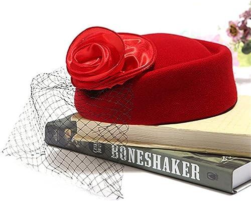 SweetStyle Roter Huthut der Huthut-homosexuellen Baskenmütze, rot