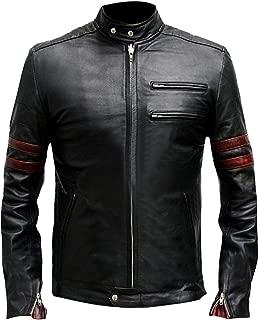 Bikers Style Original Leather Jacket Glossy Finish Lambskin for Sale On Amazon
