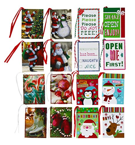 Christmas Tie-on Gift Tags - 128 Tags