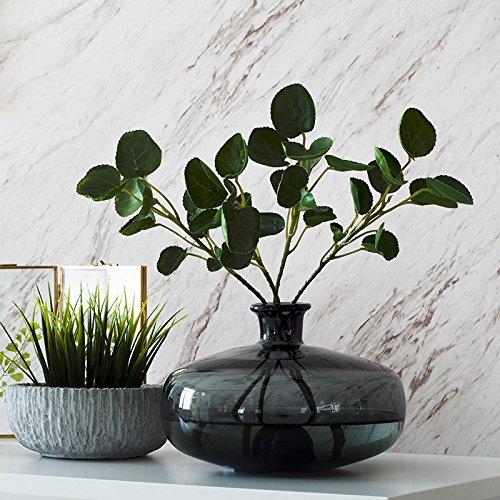 ZHFC-vase en verre haute décoration à verre verre mou pour la décoration de décoration,smoky gris