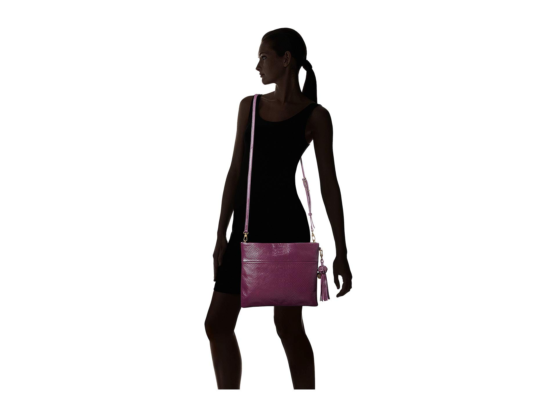 By Convertible Sak The Exotic Violet Clutch Collective Tomboy w1dEqI