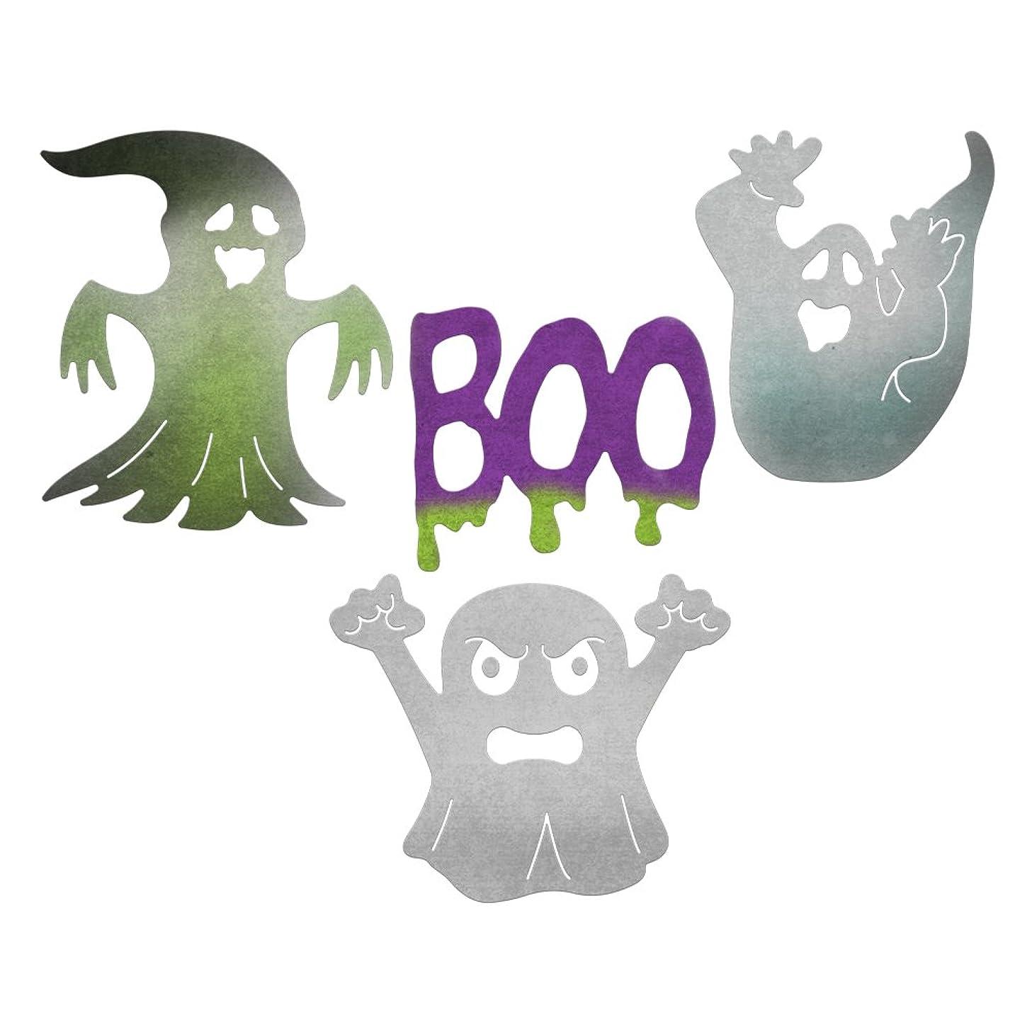 Cheery Lynn Designs B852 Halloween Ghost 4 Piece Die Set
