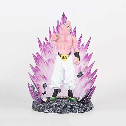 Descuento del 70% barato DYHOZZ Dragon Ball Anime Estatua Majin Buu Resina Juguete Juguete Juguete Modelo Exquisito Anime Decoración Colección de Artesanías -12.6in Estatua de Juguete  barato y de moda