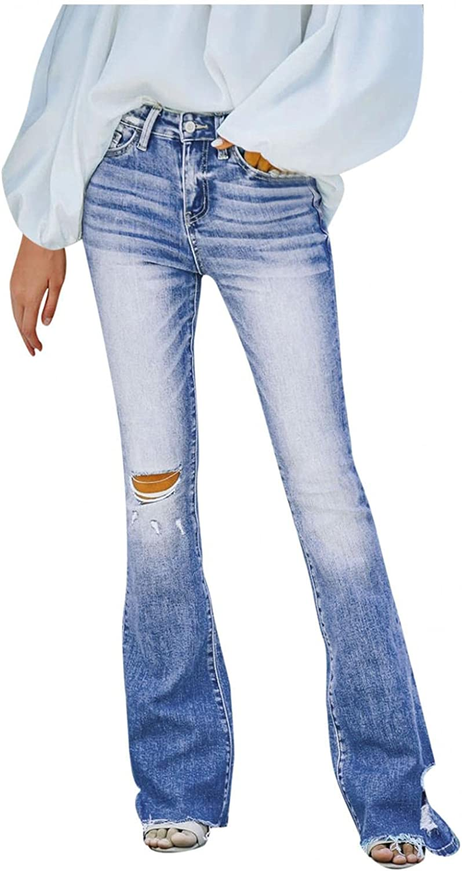 Dunacifa Womens Mid Waist Stretchy Denim Skinnys High Rise Skinny Jeans Butt Lifting Stretch Denim Pants Slim Trouser