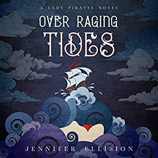 Over Raging Tides audiobook cover art