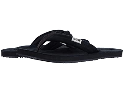 The North Face Base Camp Leather Flip-Flop (TNF Black/TNF Black) Women