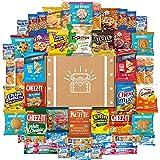 Cookies, Chips & Candies Ultimate Snacks Care Package Bulk Variety Pack Bundle Sampler (50 Count)