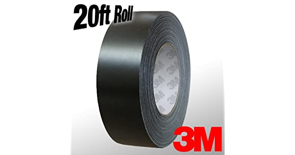 VViViD 3M 1080 Grey Anthracite Gloss Vinyl Detailing Wrap Pinstriping Tape 20ft Roll 1 x 20ft