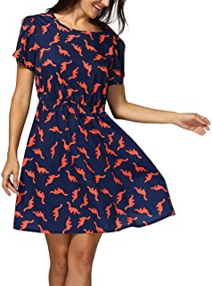 dinosaur maxi dress