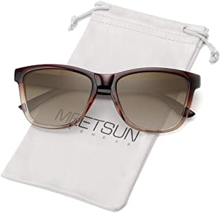 MEETSUN Polarized Sunglasses for Women Men Classic Retro Designer Style