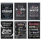 Creative Teaching Press Inspire U No Bullying Allowed Poster 6 Pack (7481)