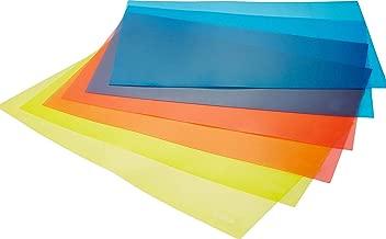 Ketsaal PVC Fridge Multipurpose Mat, Set of 6 (Multicolour)