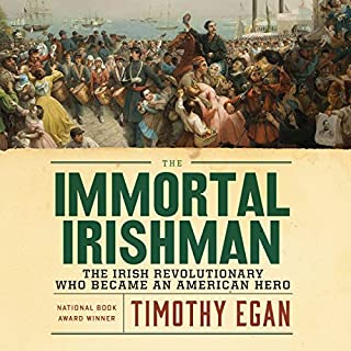 The Immortal Irishman audiobook cover art