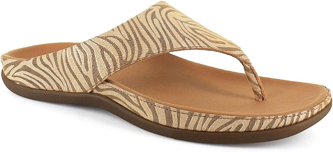 Strive Footwear 2021new shipping free shipping Maui Tan Orthotic 5 Branded goods Sandal Zebrine