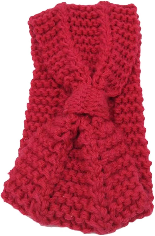 YOINS Cable Knit Headband Crochet Turban Bow Twist Hair Band Winter Soft Ear Warmer Chunky Headwrap