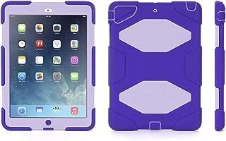 Griffin, iPad Air Rugged Case, Survivor All-Terrain Case + Stand Purple/Lavender