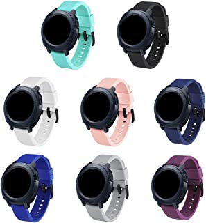 GinCoband Samsung Gear Sport Bands Replacement Accessories for Samsung Gear Sport SmartWatch 8 Color No Tracker
