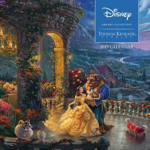 Thomas Kinkade: The Disney Dreams Collection – Sammlung der Disney-Träume 2019 (Wall-Kalender)