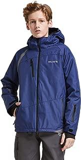 BALEAF Boy's Ski Snowboard Jacket 5K/5K Waterproof Big Kids Fleece Lined Windproof Hooded Insulated Snow Winter Coat