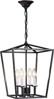 Best vintage cage pendant light Reviews