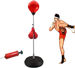 vinmax Standing Punching Bag Adult Punching Ball Speed Bag Boxing Set with Boxing Gloves (3-5 Days Delivery)