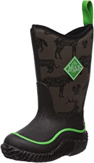 Kid's Hale Waterproof Boots, Black, Neoprene, Rubber, Mesh, 6 Big Kid M