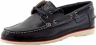 558462ead545fa Lacoste Men s Corbon 8 Fashion Dark Blue Leather Boat Shoes