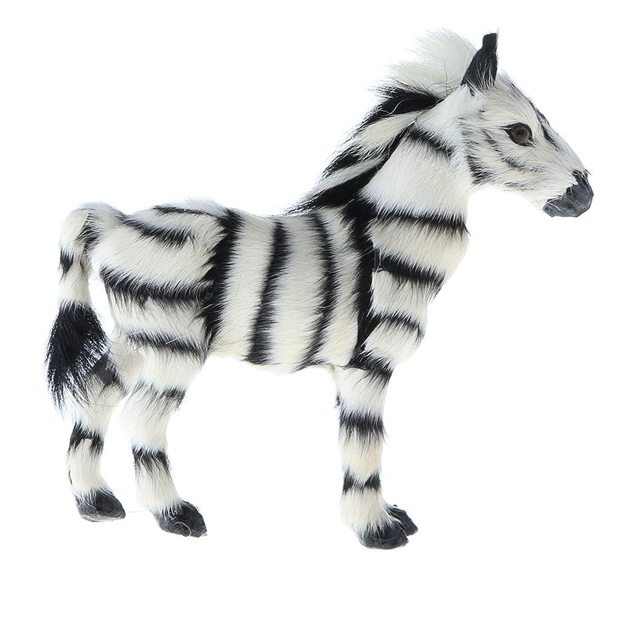 僕の銛精神医学T TOOYFUL シマウマモデル フィギュア 動物置物 玩具 動物模型 認知 教育おもちゃ