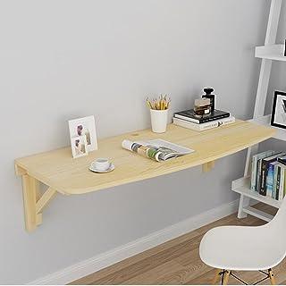 Lapdesks ZR-Table Murale Table Pliante Murale Table Pliante Pliante Table Pliante Murale en Bois Massif Workbench -économi...