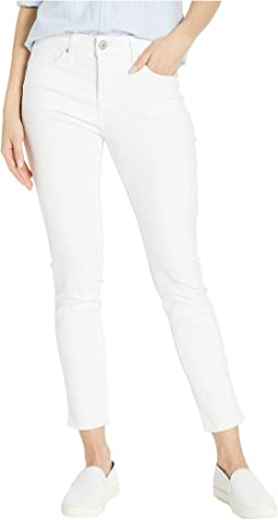 Wonderland Skinny Ankle Jeans in White