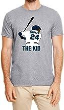 Tobin Clothing Gray Seattle Griffey The Kid T-Shirt