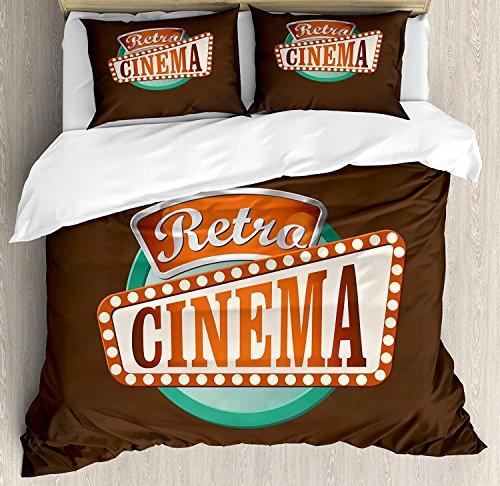 Bettwäsche-Sets für Kino-Tagesdecken, R...