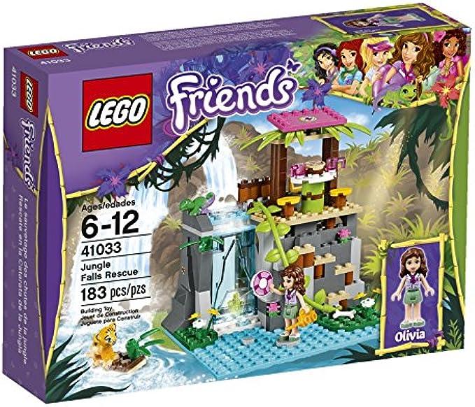 LEGO Friends הצלת מפלי הג'ונגל 41033