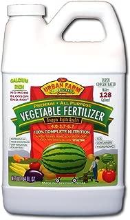 Urban Farm Fertilizers All-Purpose Vegetable Fertilizer, 1/2 Gal.