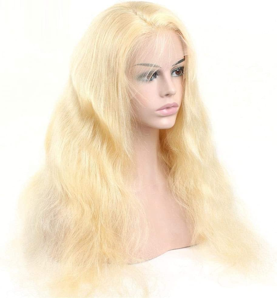 A surprise price is realized Lace Limited time sale Front Wig 613 Blonde Human Plucked Hair B Wigs Pre Hairline