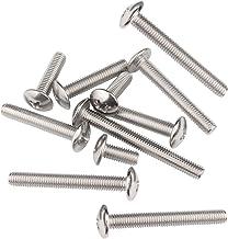 LINVINC 50/20 Stuks M6 304 roestvrij staal Phillips schroeven schroef lengte 10-70 mm, Mechanische schroef, M6 x10/12/16/2...