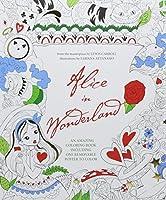 Alice in Wonderland (Coloring book including Poster)