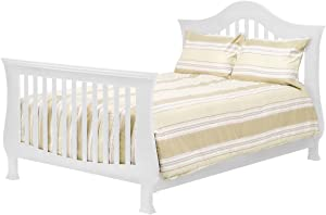 Full Size Conversion Kit Bed Rails for Million Dollar Baby Arcadia, Ashbury, Etienne, Foothill, Louis & Wembley Cribs (White)