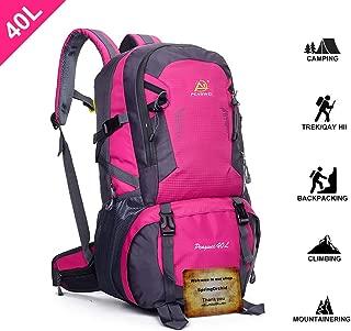 fopor Camping Hiking Daypacks Backpack - Water Resistant Trekking Rucksack Men Women