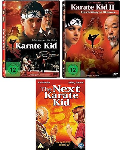Karate Kid 1+2+Next Karate Kid im Set - Deutsche Originalware [3 DVDs]